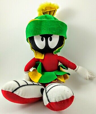 1995 Vintage Warner Brother Studio Marvin The Martian Plush Looney Tunes Toy