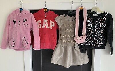 Girls Bundle of Clothing - 5 x Items - Age 4-5 Years - Gap * George* Next