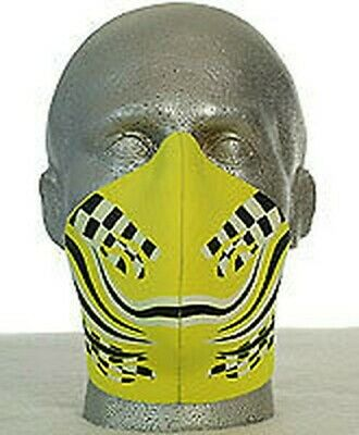 Bandero Biker Motorcycle Face Mask - Chequer Design