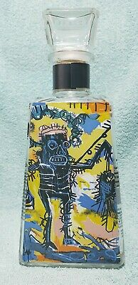 1800 TEQUILA ARTIST JEAN-MICHEL BASQUIAT Untitled Bottle Limited Edition