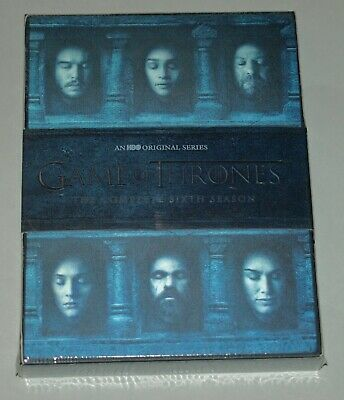 Game of Thrones: The Complete 6th Season on DVD, NEW, SEALED, FREE SHIPPING