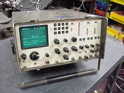 Motorola R-2001B Communications Service Monitor-Tested and Calibrated