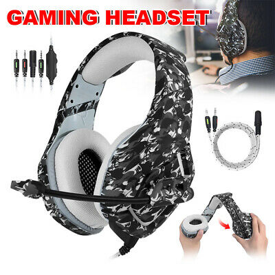 ONIKUMA K1 MIC Stereo Bass Surround Gaming Headset Headphone for PS4 Xbox One