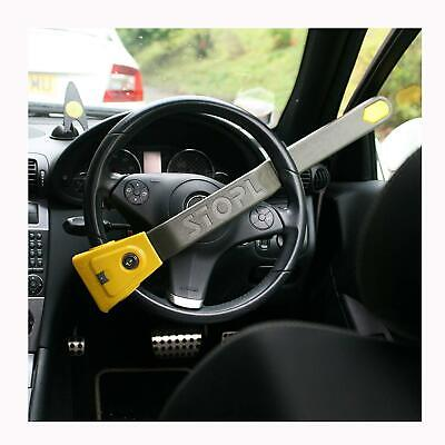 Stoplock Steering Wheel Immobiliser Lock Airbag & 4x4 High Security Anti Theft
