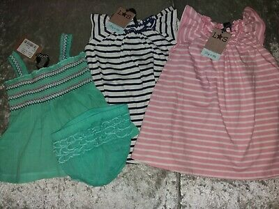 Baby girl bundle 3 dresses designer Lily + Sid 6-12 months dress x3 lot bnwt