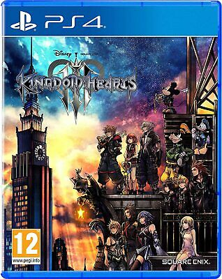 Kingdom Hearts III (PS4) New & Sealed - In Stock Now - UK PAL