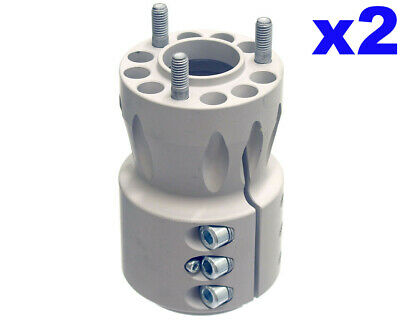 Go Kart AMV Magnesium Long Rear Hub For 9F 50MM X 125MM Magnesium Pair Racing