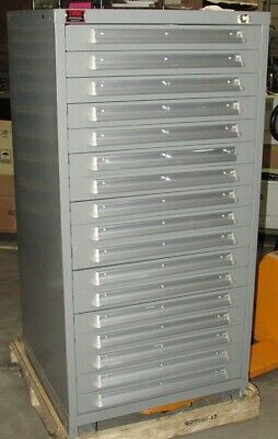 New Lyon 17-Drawer Tool Parts Storage Cabinet (Scratch and Dent)