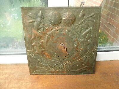 Arts and Crafts Copper Clock Face for restoration