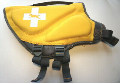 Top Paw Dog Life Vest Jacket Yellow Neoprene Boating M L XL-100% for Charity