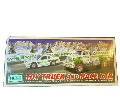 Hess 2011 Toy Truck and Race Car Brand New in Box