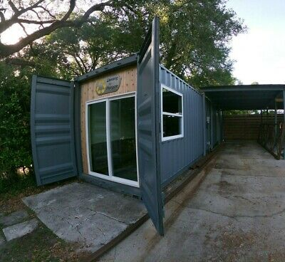 40' Shipping Container Office / Storage - Custom Designs
