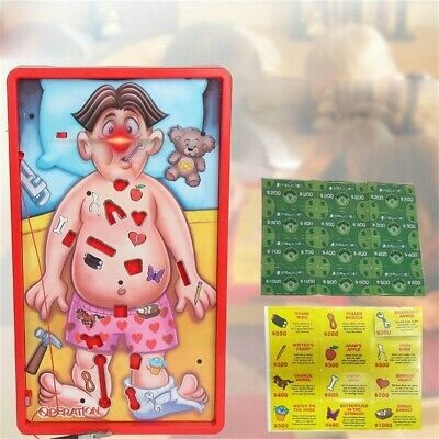 Operation Kids Classic Board Game Family Fun Childrens Xmas Gifts Toys UK Stock