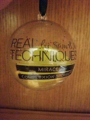 Real Techniques Miracle Complexion Sponge Ornament Stocking Stuffer