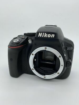 Nikon D5300 24.2MP Digital SLR Camera - Black