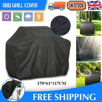 Xl Bbq Cover Waterproof Rain Garden Barbecue Grill Heavy Duty Extra Large 170Cm