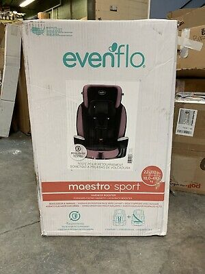 Evenflo Maestro Sport Harness Toddler Child Booster Car Seat 22-110lbs