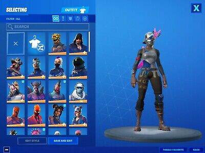 fortnite account 100+ skins OG season 2 battle pass Backblings included