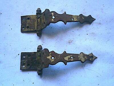 Paie Of  Longcase Grandfather Clock  Trunk Door Hinges