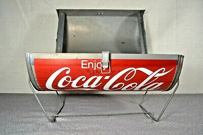 Vintage Coca Cola Can Shaped Portable BBQ Grill - Unused
