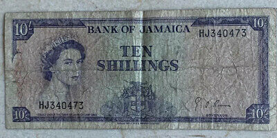 Jamaica 10 Shillings Law 1960