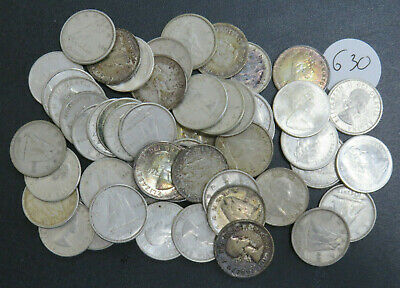 $5.00 Face Value 80% Silver Canadian Ten Cents