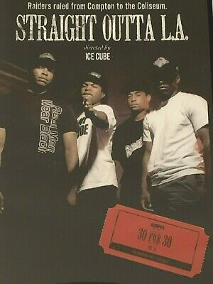 Straight Outta L.A Ice Cube DVD Like New Region 1