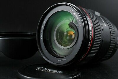 [Near Mint] Canon EF 24-105mm f/4 L IS Macro USM for EOS EF Mount From Japan