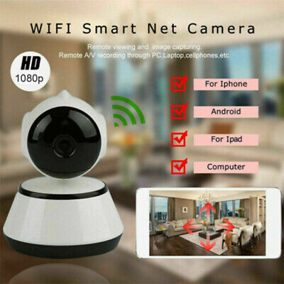 HD Night Vision Wireless WiFi Smart Homes Security Camera Video Baby Dog Monitor