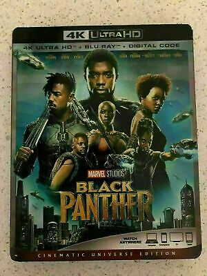 Black Panther (2018) 4K - DISC IS MINT