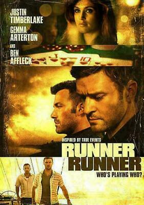 Runner Runner (DVD, 2014, Canadian) DISC IS MINT