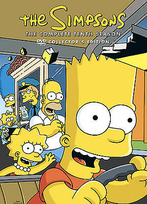 The Simpsons - Season 10 (DVD, 2009) DISC 2 ONLY