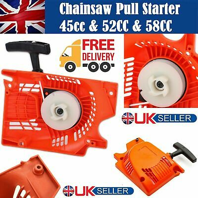 Petrol Chainsaw Recoil Pull Start Starter Kit Fits For Chinese 45cc 52cc,58cc Se