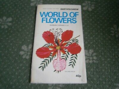 """""""World of Flowers"""" - A Vintage Bartholomew Pictorial Map Series by Everard 1972"""