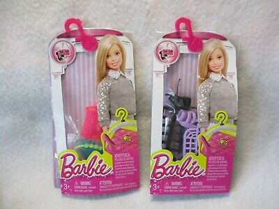 Barbie 1998 Fashion Touches LOT of 2 – Purses and Shoes Mattel