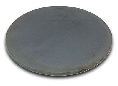"Round Hot Rolled Steel Plate 1/4"" x 4"" Diameter Circle Pack of 2!"