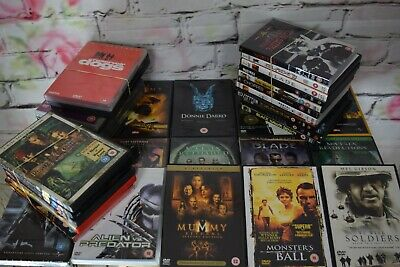 Job Lot Action Adventure DVD's Huge Bundle x 41 films