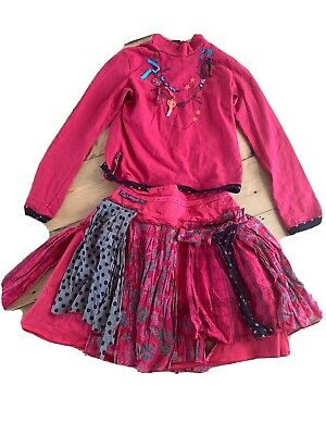 Catimini Outfit ( Top 12yrs 150cms ) Skirt 10 136cms