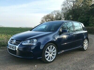 Volkswagen Golf 2008 R32 Manual - FSH APPLE CAR PLAY HEATED LEATHER XENONS