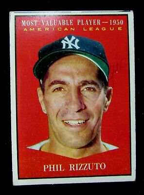 1961 Topps Baseball #471 - Phil Rizzuto All-Star Card   - Free Shipping