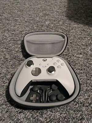 Microsoft Xbox One Elite Wireless Controller - White (read description)