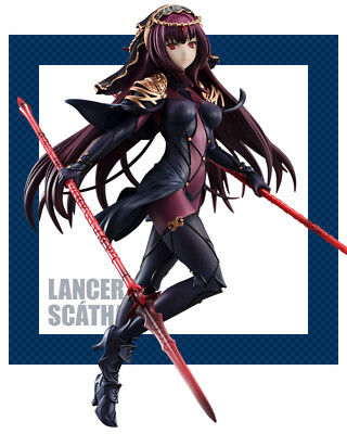 "Fate Grand Order Lancer Scathach Servant 7"" PVC figure Furyu (100% authentic)"