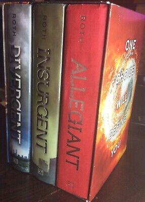 Divergent Series Complete Box Set by Veronica Roth: Used