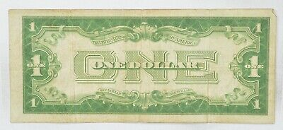 TOUGH 1928-A $1.00 Funny Back Silver Certificate Monopoly Money Collectible *506
