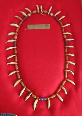 Neat Second Generation Hudson Bay Beads. Native American Trade Necklace