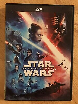STAR WARS THE RISE OF SKYWALKER DVD Like NEW Played Only Once!