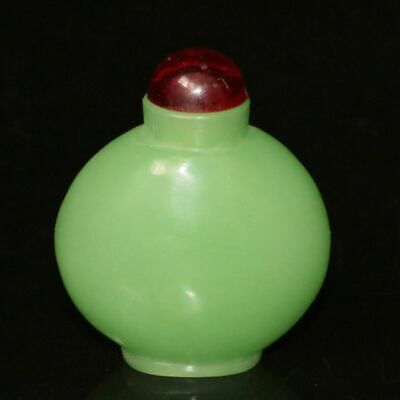 Chinese Exquisite Handmade Old Beijing Glaze Snuff bottle 80008