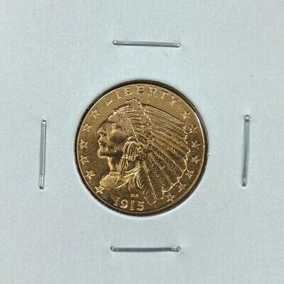 1915 $2.50 Gold Indian