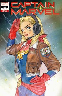 Captain Marvel #16 Peach Momoko Variant Trade Dress Limited To 3000 Nm