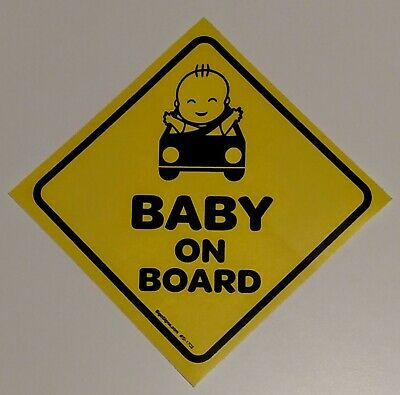 Baby On Board Stickers - 10 pack